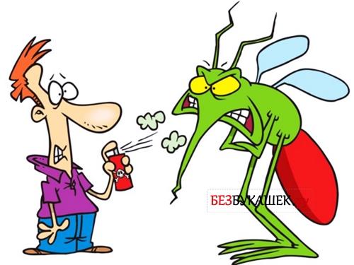 Применение средств защиты от насекомых