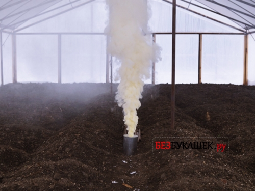 Дымовая шашка от насекомых в теплице