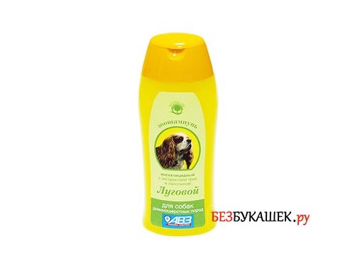 Инсектицидный шампунь от блох для собак Луговой