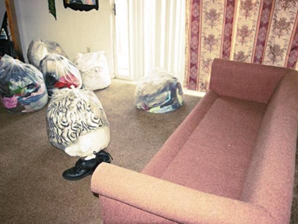 Подготовка комнаты для обработки