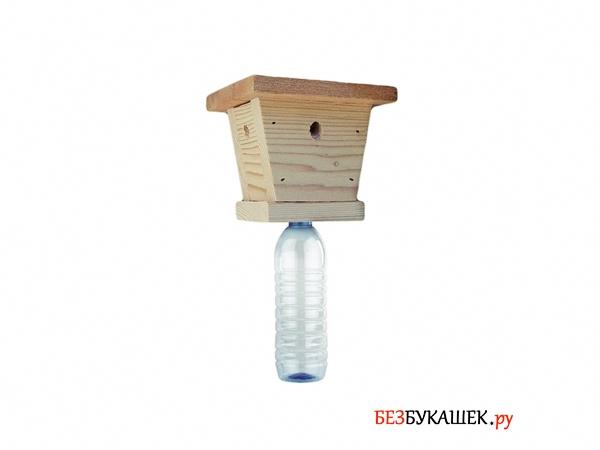 Самодельная ловушка для древесных пчел