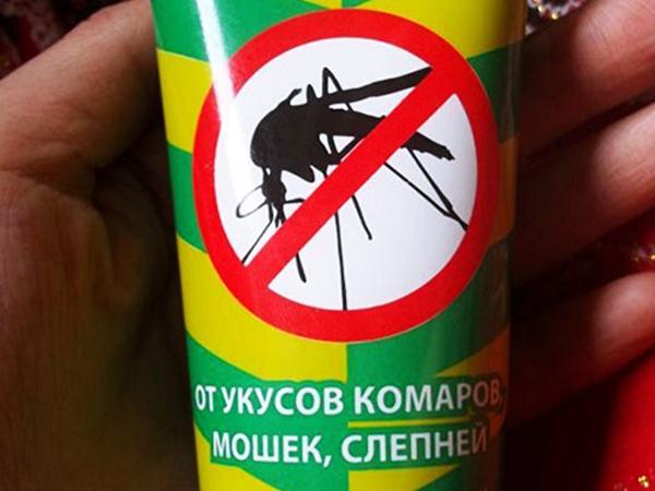 Средство после укусов мелких насекомых