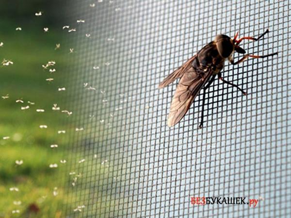 Москитная сетка от мух