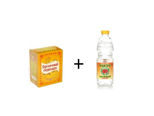 Ингредиенты для приготовления раствора