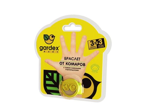 Вот так выглядит детский браслет от комаров Gardex beby